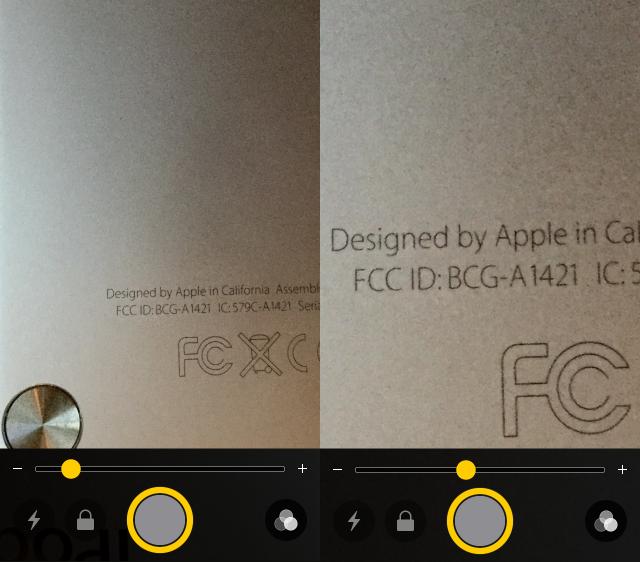Как использовать iPhone в качестве увеличительного стекла в iOS 10