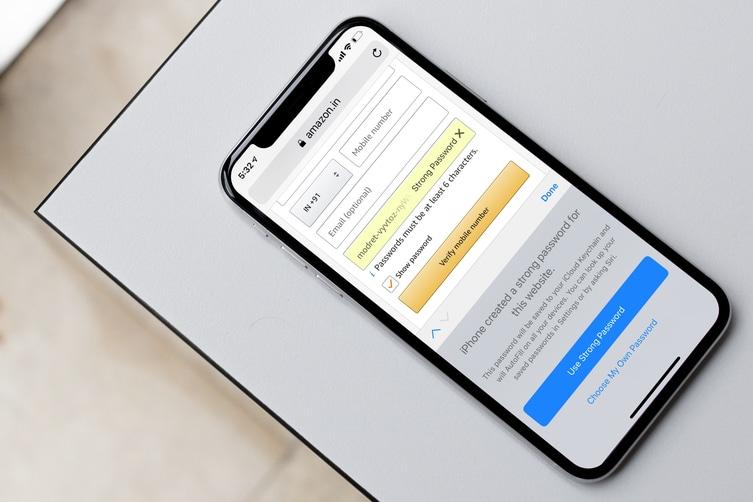 Как автоматически создавать надежные пароли в iOS 12