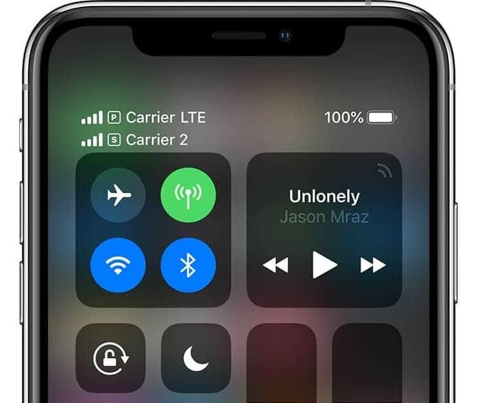 Как проверить процент заряда батареи на iPhone XS, XS Max и iPhone XR