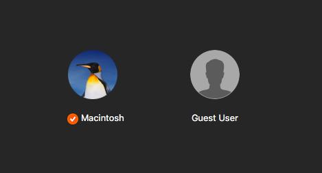 Как создать учетную запись гостя на вашем Mac