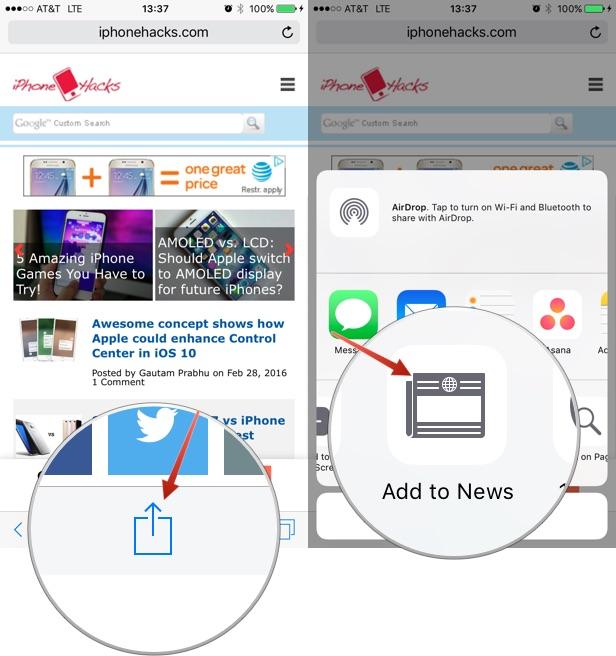 Как добавить RSS-каналы в приложение Apple News на iPhone и iPad