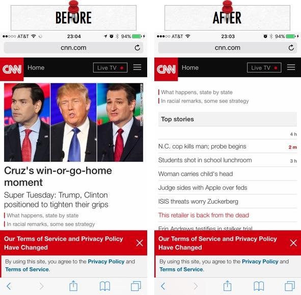 Как заблокировать политический контент в Safari на вашем iPhone и iPad