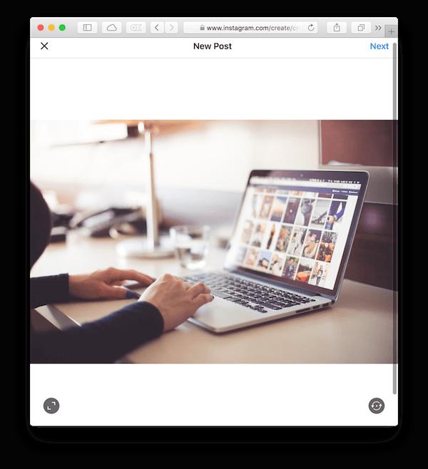 Как публиковать фотографии в Instagram с вашего Mac