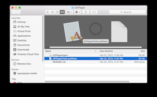 Как использовать анимированный GIF в качестве обоев на Mac