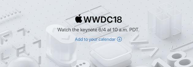 Как смотреть презентацию WWDC 2018 в прямом эфире
