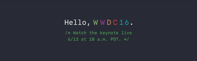 Как смотреть презентацию WWDC 2016 в прямом эфире