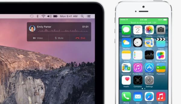Как совершать и принимать телефонные звонки на iPad с помощью iPhone в iOS 8