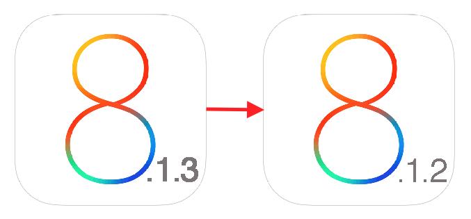 Как перейти с iOS 8.1.3 на iOS 8.1.2