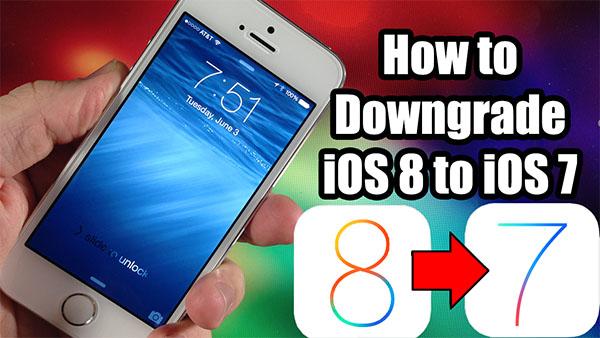 Как перейти с бета-версии iOS 8 на iOS 7.1.1