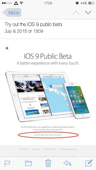 Как установить публичную бета-версию iOS 9