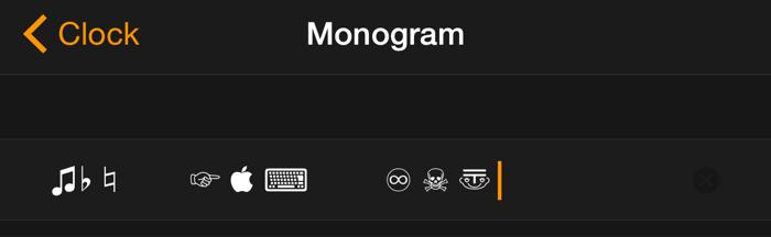 Как нанести монограмму на циферблат Apple Watch пользовательскими символами