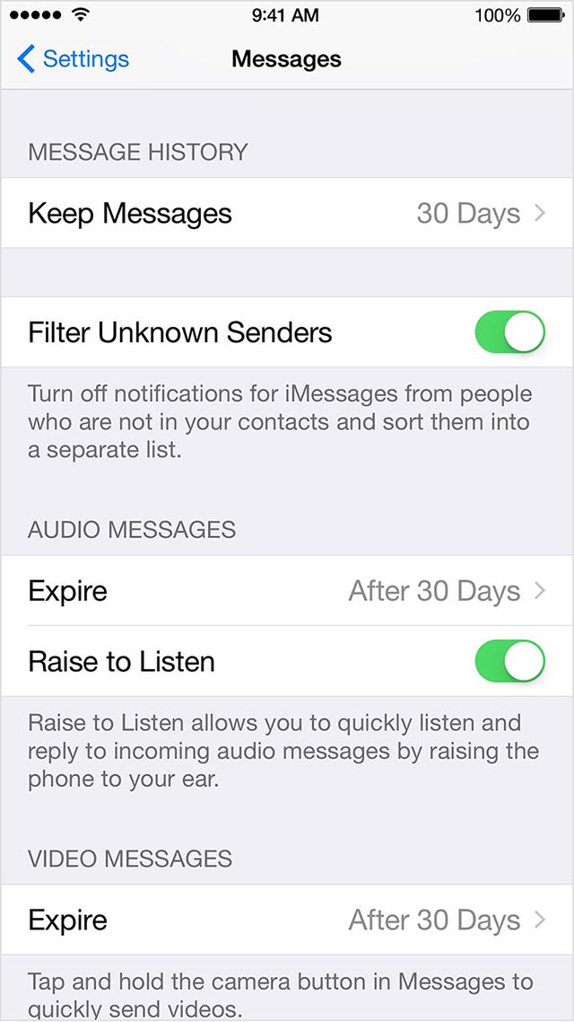 Как отфильтровать и отключить уведомления о сообщениях от неизвестных отправителей