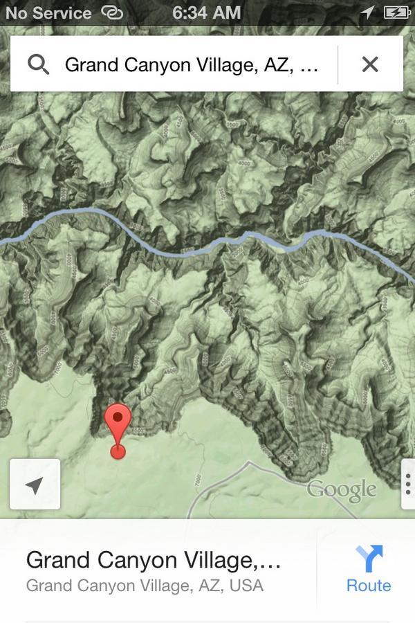Как включить режим скрытой топографии в Google Maps для iPhone