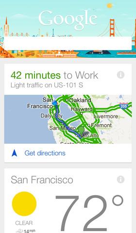 Как сделать Google Now стартовой страницей в приложении Google Search
