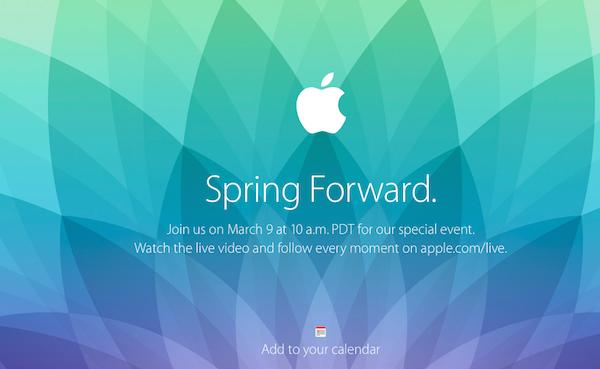 Как смотреть в прямом эфире Apple Watch Spring Forwardevent