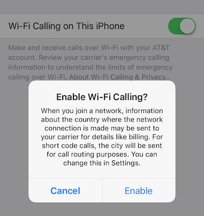 Как включить звонки по Wi-Fi на вашем iPhone