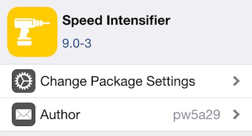 Как ускорить iOS 9 за секунды [Jailbreak only]