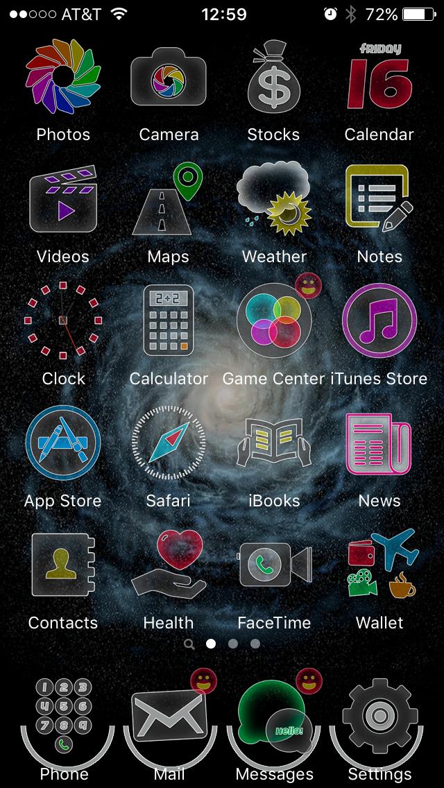 Как оформить iPhone с помощью Anemone, альтернативы WinterBoard