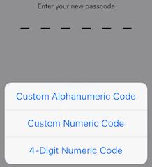 Как установить 6-значный или пользовательский цифровой код доступа в iOS 9