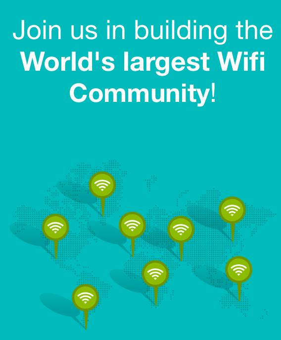 WifiMapper поможет вам найти бесплатные точки доступа Wi-Fi в любой точке мира