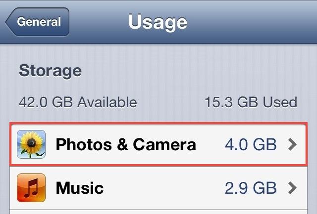 Узнайте, сколько места на вашем iPhone или iPad занимают ваши фото и видео