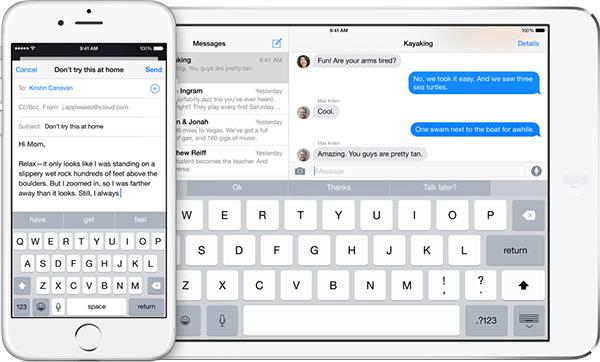 Как использовать QuickType в iOS 8