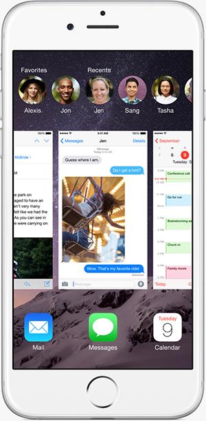 Как закрыть приложение на iPhone 6 или iPhone 6 Plus