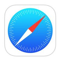 Добавить сайт в избранное;  Запросить рабочий стол в Safari в iOS 8