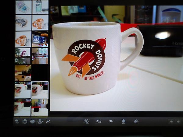 Редактирование фотографий на iPad с помощью iPhoto