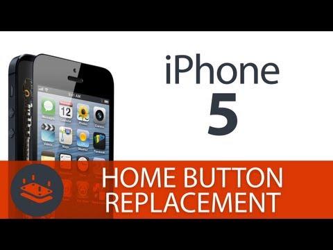Как заменить кнопку Home на iPhone 5 [Video]