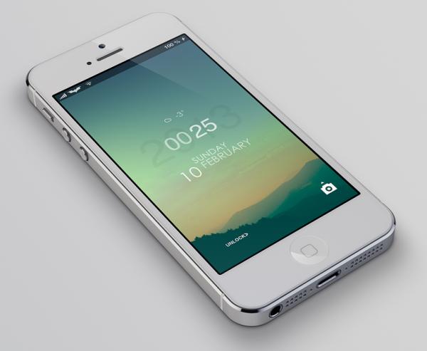 LS Climacons, минималистичная тема экрана блокировки для вашего iPhone