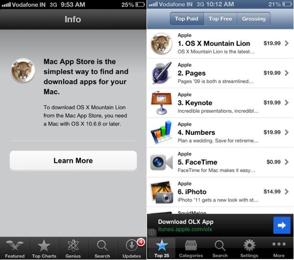 Как предварительно просмотреть информацию о приложениях Mac App Store на вашем iPhone или iPad