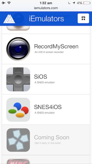 Установите эмулятор SNES на свой iPhone или iPad без взлома