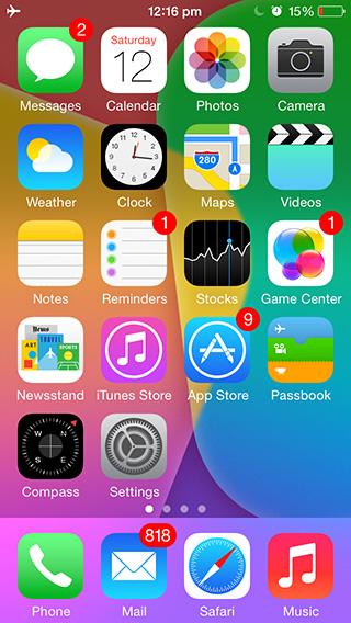 Сортировка значков приложений на главном экране iPhone или iPad в алфавитном порядке