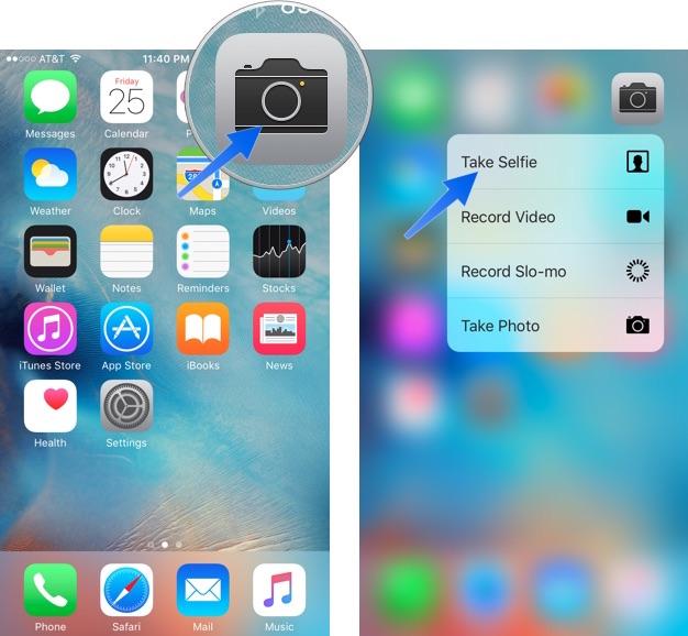 Как делать живые селфи с Retina Flash на iPhone 6s