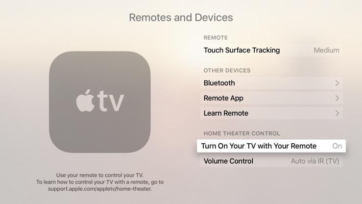 Как настроить Apple TV на автоматическое включение телевизора