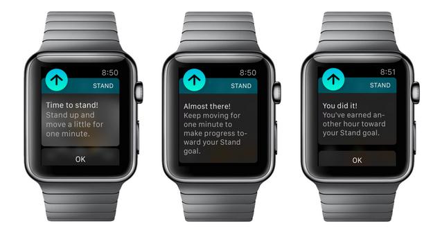 Как отключить напоминания о подставке на Apple Watch