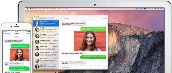 Как отправлять и получать текстовые сообщения iPhone на вашем Mac