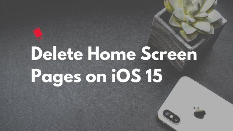 Как организовать и удалить страницы главного экрана на iPhone