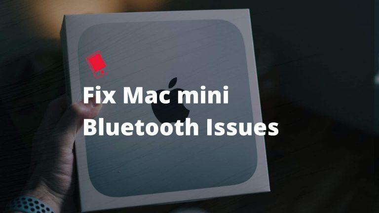 Как исправить проблемы с Bluetooth M1 Mac mini