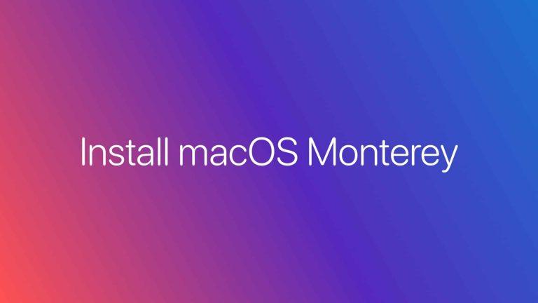 Как установить публичную бета-версию macOS 12 Monterey на Mac