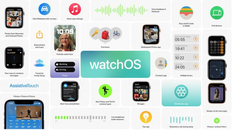 Как установить общедоступную бета-версию watchOS 8 на Apple Watch