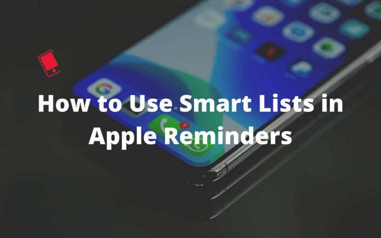 Как использовать смарт-списки в приложении для напоминаний на iPhone