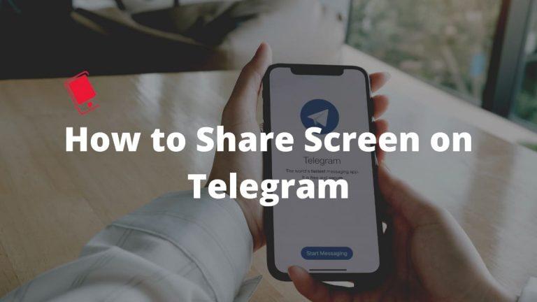 Как поделиться экраном во время видеозвонков Telegram на iPhone и Mac