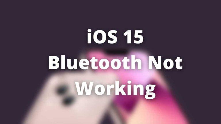 Bluetooth не работает на iPhone?  Вот как исправить проблему