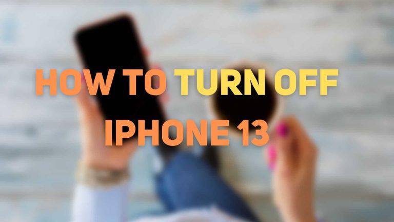 Как выключить или перезагрузить iPhone 13 или iPhone 13 Pro