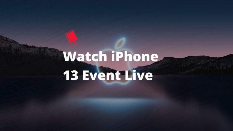 Как смотреть iPhone 13 и Apple Watch Series 7: запуск мероприятия в прямом эфире